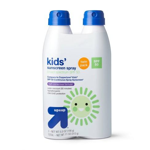 Kids Sunscreen Spray - SPF 50 - up & up™ - image 1 of 3