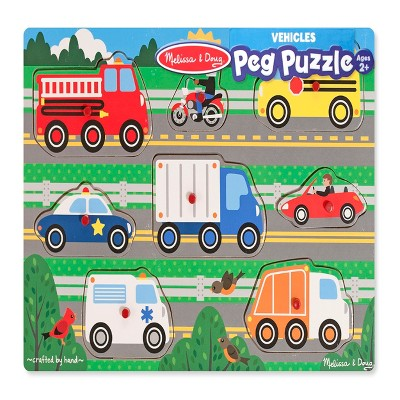 Melissa & Doug® Classic Peg Puzzle