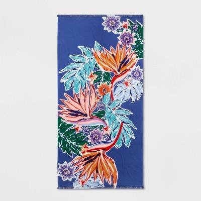 Passion Floral Beach Towel - Opalhouse™