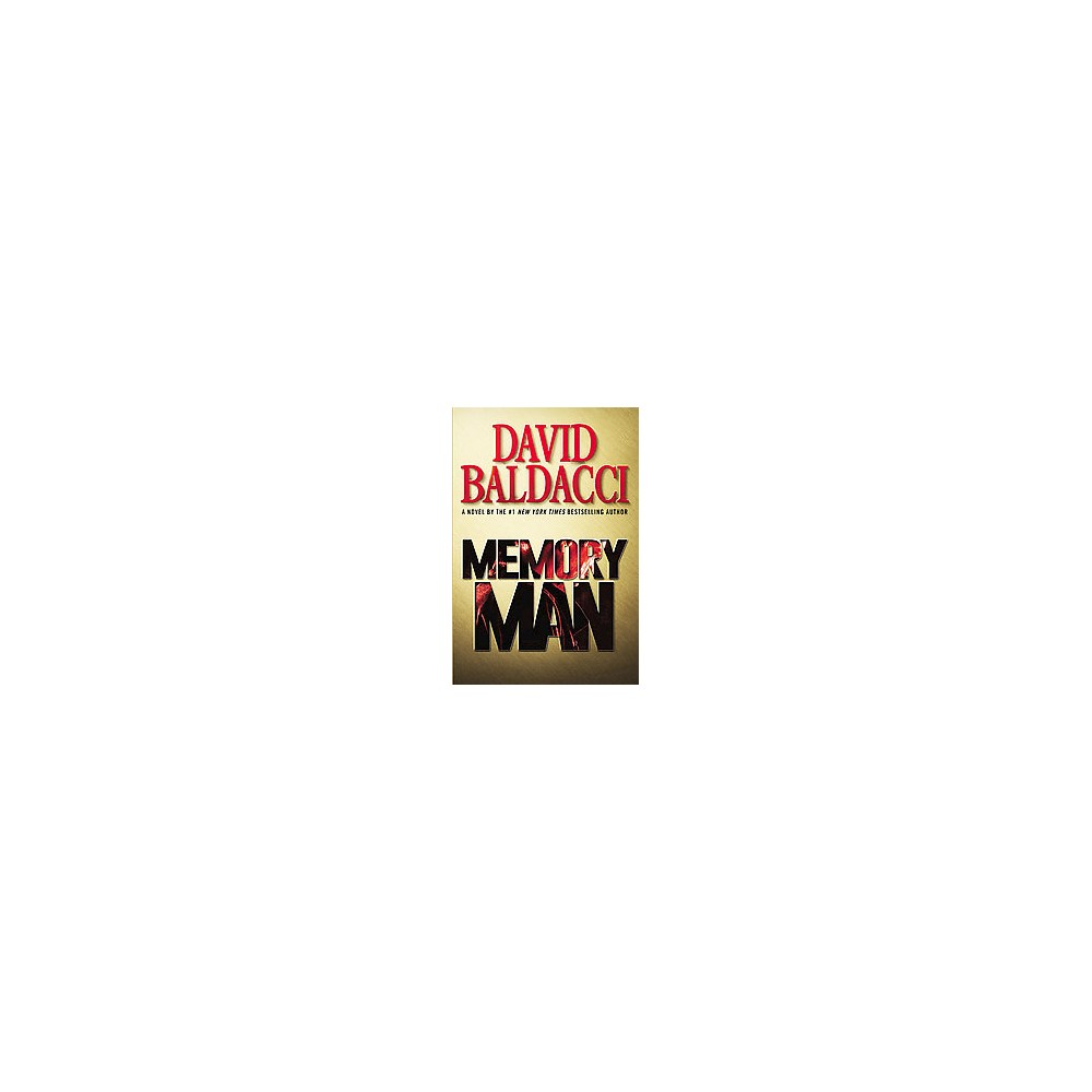 Memory Man (Large Print) (Hardcover) (David Baldacci)