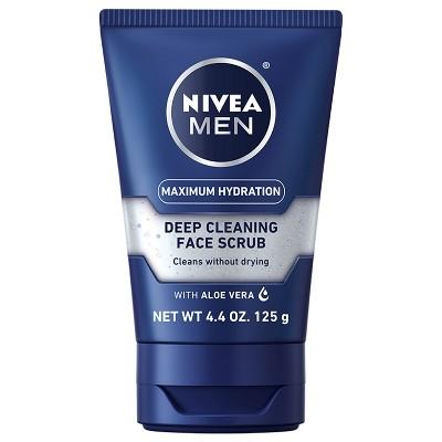 Nivea Men 4.4oz maximum hydration face scrub