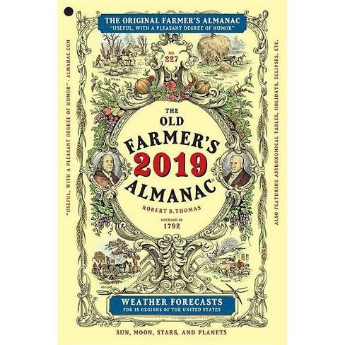 Old Farmer's Almanac 2019 -  (Old Farmer's Almanac) (Paperback) - image 1 of 1