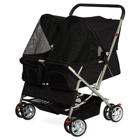 Oxgard Paws & Pals Twin Carriage Pet Stroller - image 1 of 4