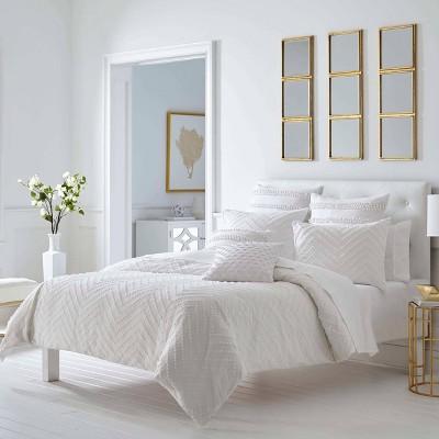 Trina Turk Freya Full/Queen Comforter Set White