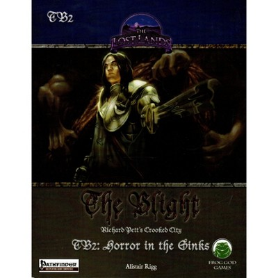 Blight #2 - Horror in the Sinks (Pathfinder) Softcover