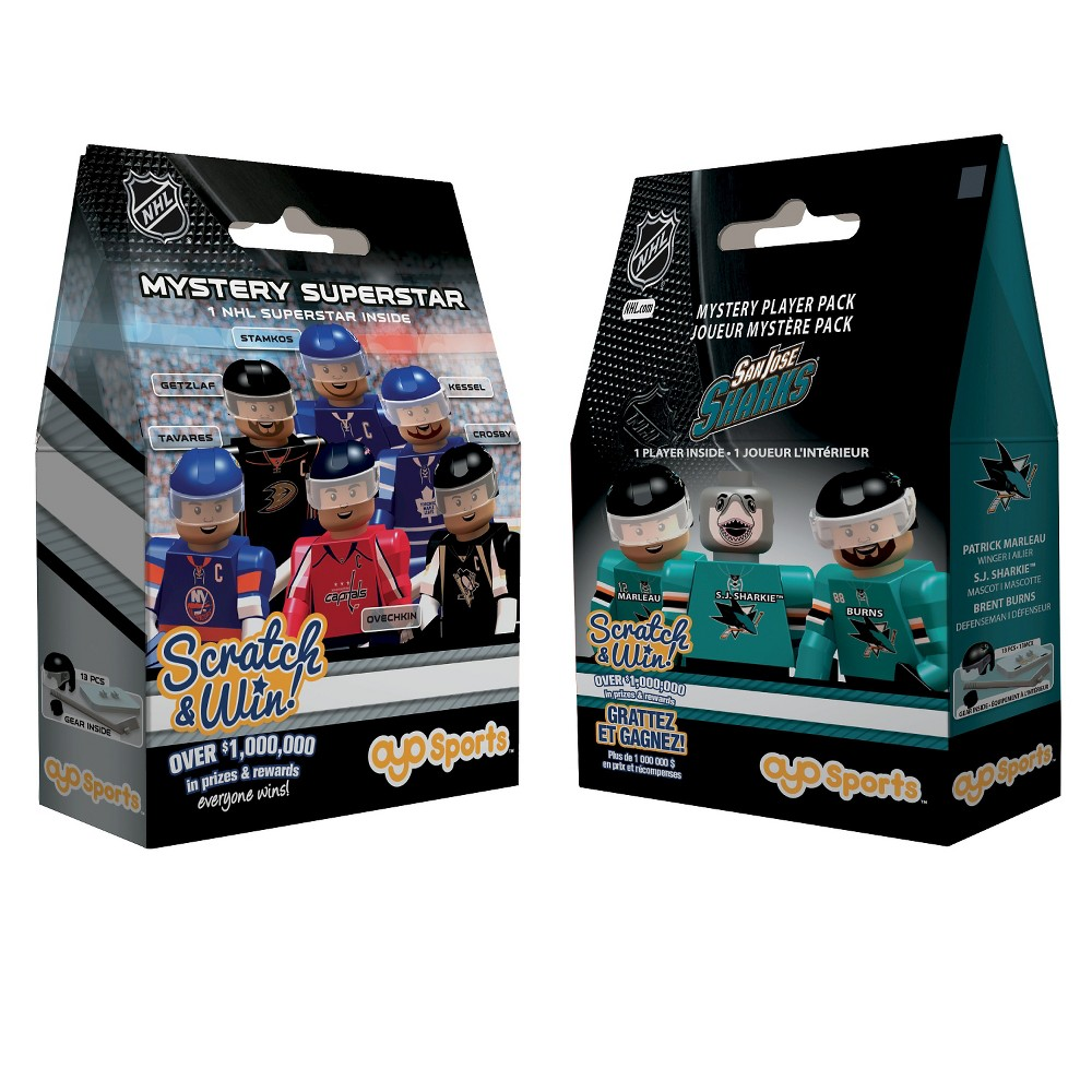 NHL San Jose Sharks Oyo Player Bundle Pack