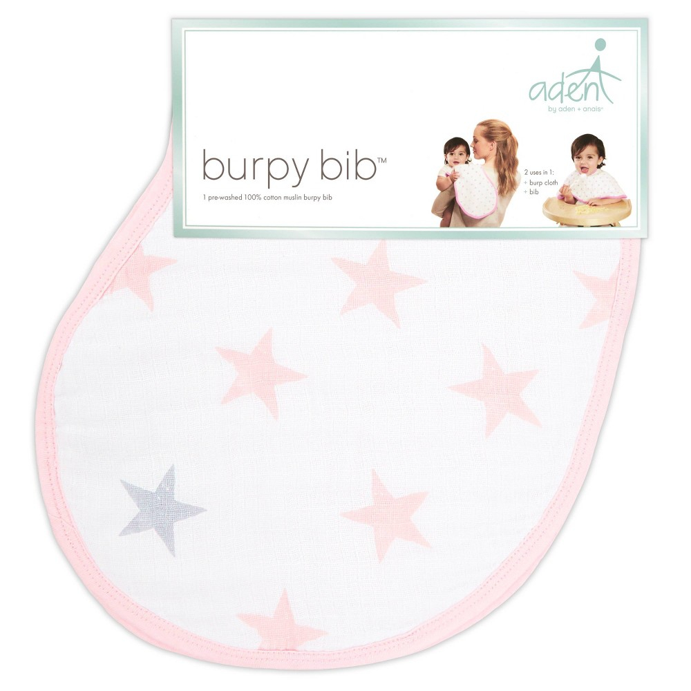 Image of aden by aden + anais Stars Bib - Pink