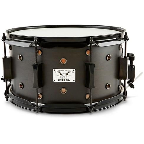 Pork Pie Little Squealer Snare Drum Satin Black Ebony 7 x 13 in. - image 1 of 4