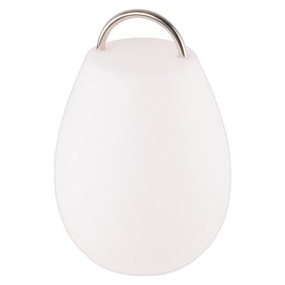 "Allsop Glow 12.6"" Wander Outdoor Table Lamp - White - Mooni"