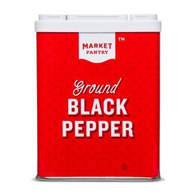 Ground Black Pepper - 4oz - Market Pantry™