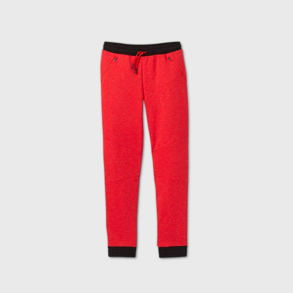 Boys 39 Premium Fleece Jogger Pants All In Motion 8482 Red Xxl