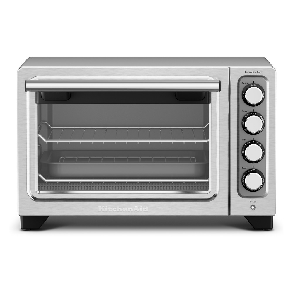 Image of KitchenAid Refurbished Compact Oven - Stainless Steel (Silver) RKCO253