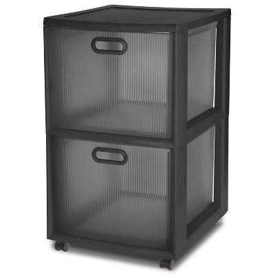 Attractive 2 Drawer Cart   Black   Room Essentials™