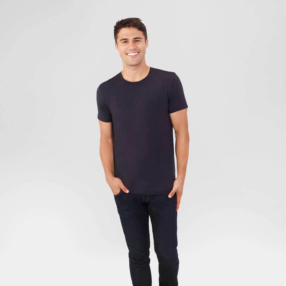Fruit of the Loom Select Men's Everlight Short Sleeve T-Shirt - Charcoal Heather L