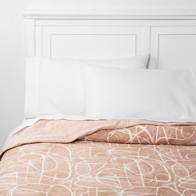 King Watercolor Linework Quilt Blush - Project 62™ + Nate Berkus™
