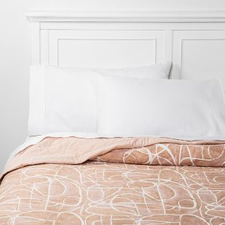 Full/Queen Watercolor Quilt Blush - Project 62™ + Nate Berkus™