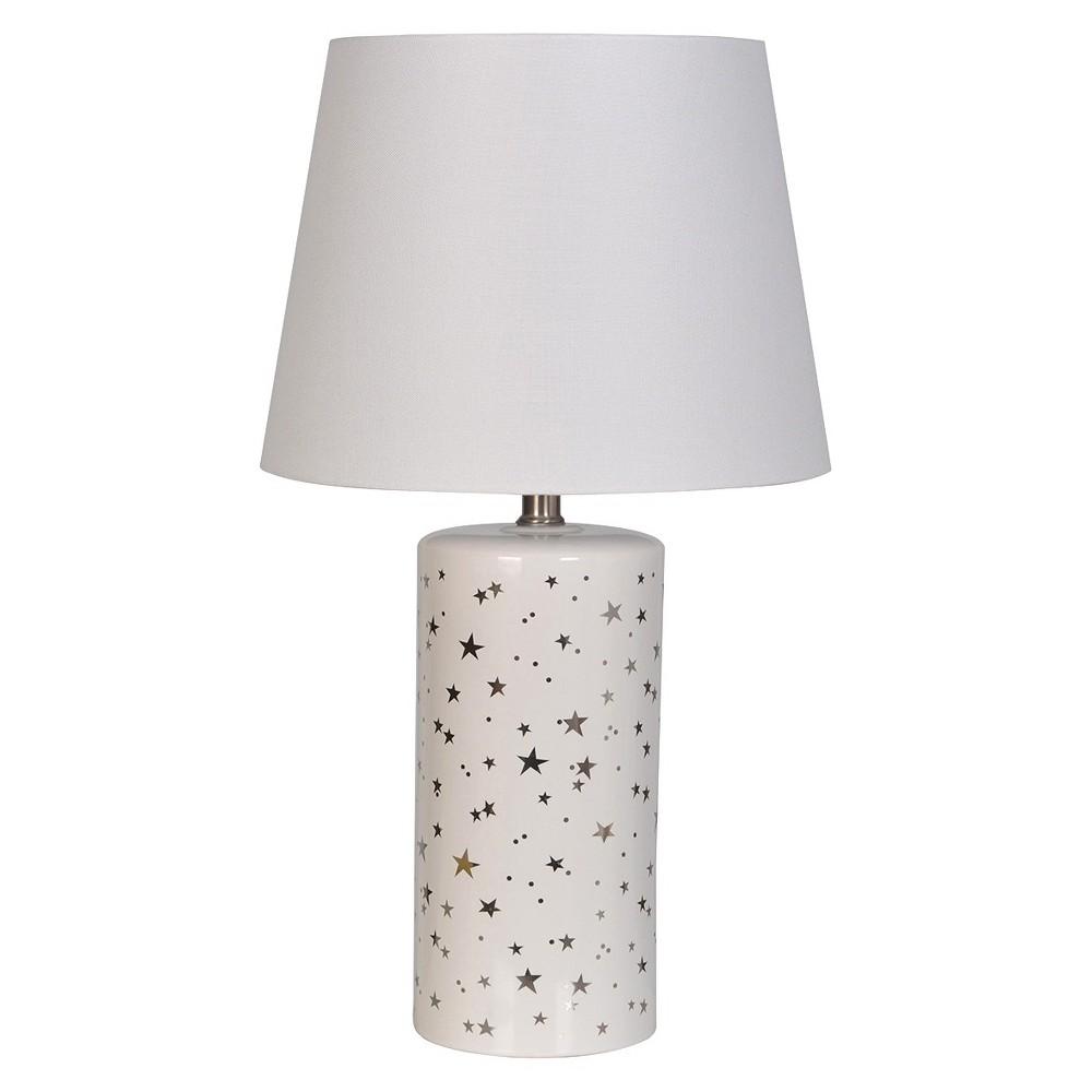 Column Table Lamp Stars (Includes Cfl bulb) - Pillowfort, Campanula White