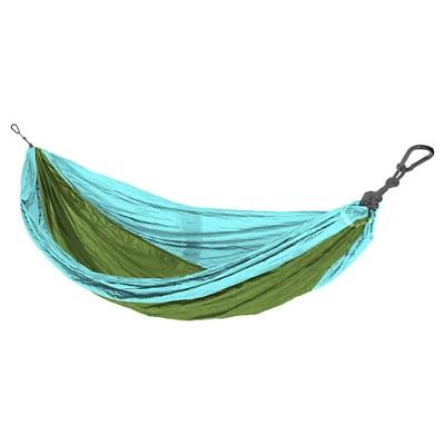 Eco Trekker Camping Hammock - Turquoise/Lime