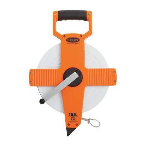 "KESON NR18-165 165 ft. Long Tape Measure, 3/8"" Blade, Orange - image 1 of 1"