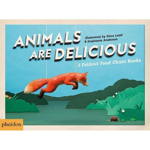 Animals Are Delicious - by  Sarah Hutt (Board_book) - image 1 of 1