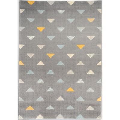 Triangle Yellow Rug (5'x7')- Balta Rugs