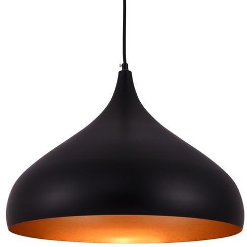 "Elegant Lighting LDPD2045 Circa Single Light 16-1/2"" Wide Pendant with an Aluminum Shade - image 1 of 3"