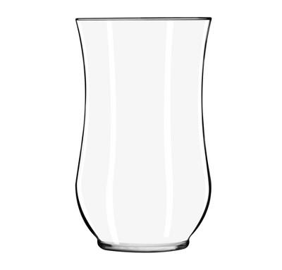 Glass Hurricane Vase Clear 10.5  - Libbey