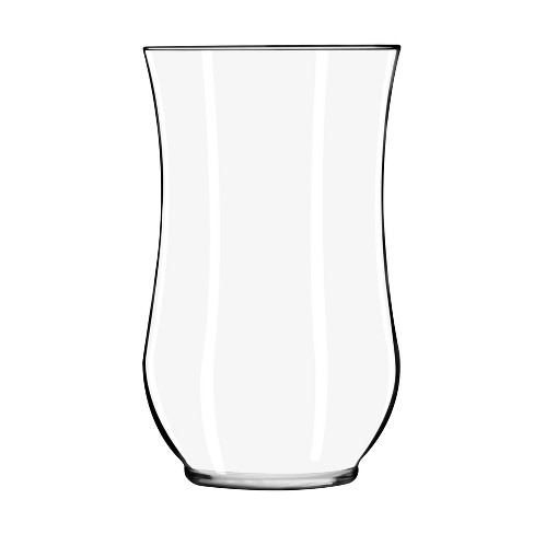 "Glass Hurricane Vase Clear 10.5"" - Libbey - image 1 of 4"