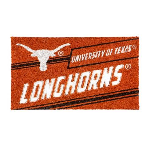 """NCAA Texas Longhorns Rubber Door Mat 14""""x 30.5"""" - image 1 of 1"""