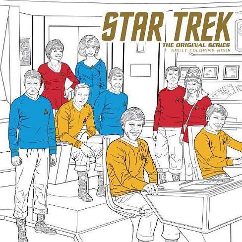 Star Trek The Original Series Adult Coloring Book Paperback