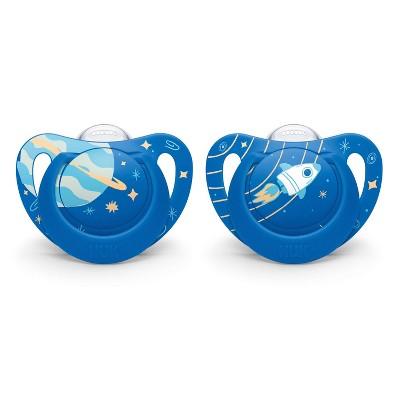 NUK 2pk Genius Pacifier - Blue - Size 2