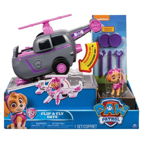Paw Patrol Flip And Fly Vehicle Assortment - Skye   Target ce2ee2f5a6c4