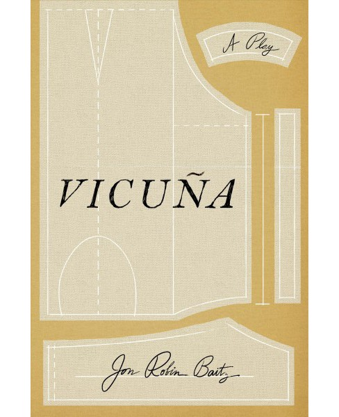 Vicuña : A Play -  by Jon Robin Baitz (Paperback) - image 1 of 1