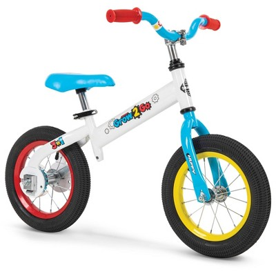 "Huffy Grow 2 Go Conversion 12"" Kids' Balance Bike - Gray"