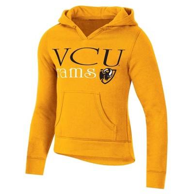 NCAA VCU Rams Girls' Split Neck Hoodie
