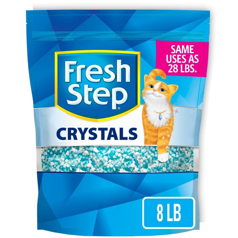 Fresh Step Crystals Premium Scented Cat Litter - 8lb Discounts