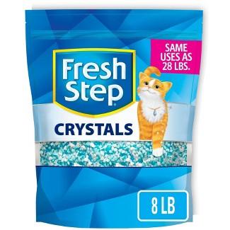 Fresh Step Crystals Premium Scented Cat Litter - 8lb : Target