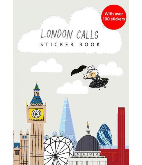 London Calls Sticker Activity Book (Paperback) (Gabby Dawnay) - image 1 of 1
