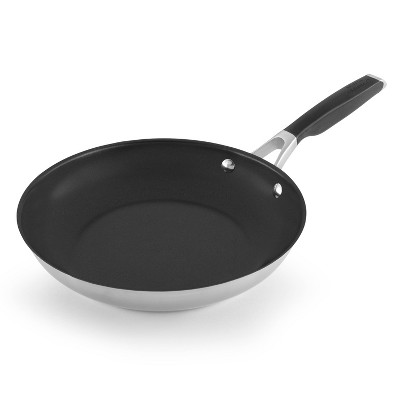 Select by Calphalon 10  Stainless Steel Non-Stick Fry Pan