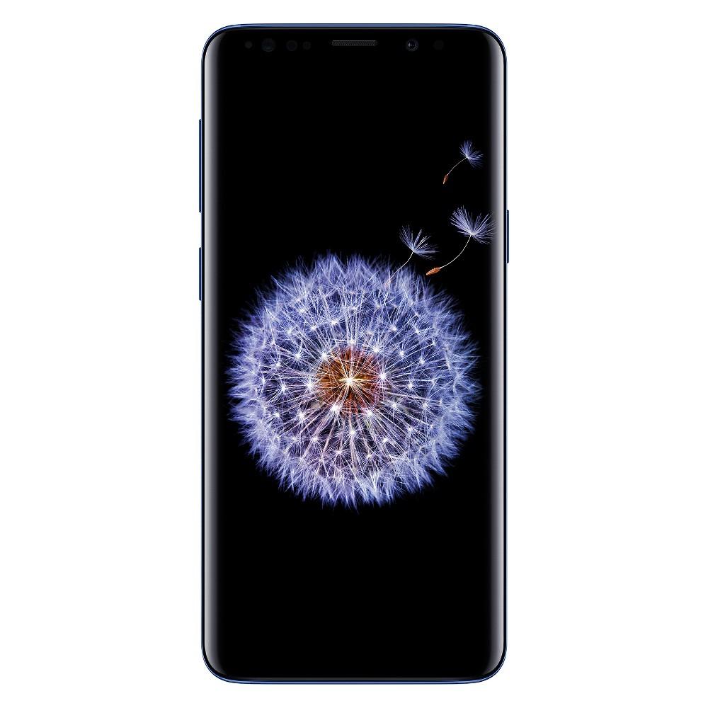 Verizon Samsung Galaxy S9 (64GB) - Coral Blue, Pink Blue