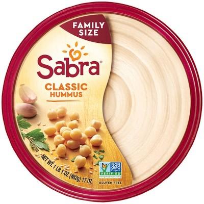 Sabra Classic Hummus - 17oz
