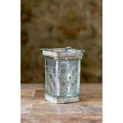 Park Hill Collection Cut Glass Cutting Vase
