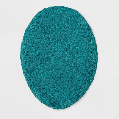 Performance Solid Toilet Lid Cover Standard Turquoise - Threshold™