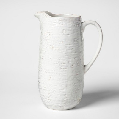Cravings by Chrissy Teigen 2.1qt Stoneware Pitcher White