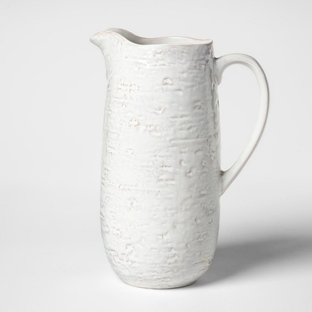 Image of Cravings by Chrissy Teigen 2.1qt Stoneware Pitcher White