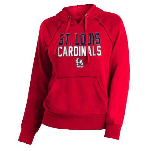 MLB St. Louis Cardinals Women's 7th Inning Stretch Hoodie - image 1 of 1