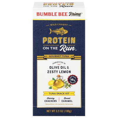 Bumble Bee Protein One The Run Olive Oil & Zesty Lemon - 3.5oz