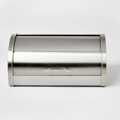 Metal Breadbox Silver - Threshold™