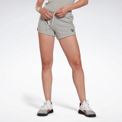 Reebok Identity French Terry Shorts Womens Athletic Shorts