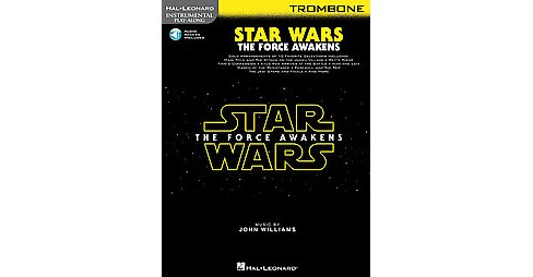 Star Wars: The Force Awakens : Trombone, Includes Downloadable Audio (Paperback) - image 1 of 1